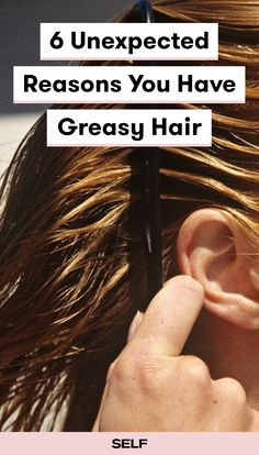 how to get rid of greasy hair without shampoo