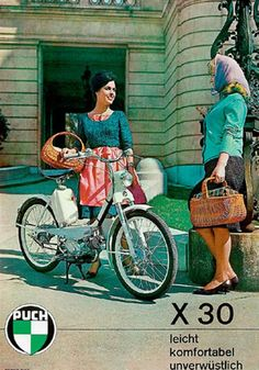 Puch Vintage Poster 1960s