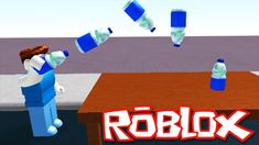 ROBLOX BOTTLE FLIP CHALLENGE