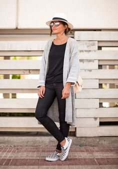 Fashion destination for sophisticated and playful fashionistas. Sophisticated Fun! Press - After Party Slouch Cardigan Sophisticated Fun! Grey cardigan