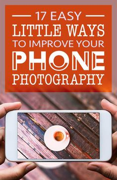 17 Easy Little Ways To Improve Your Phone Photography. Mobile phone photography tips come in all sizes. Little improvements lead to big results, so start learning about phone photography and how you can improve yours today. Mobile Photography Tips, Photography Lessons, Iphone Photography, Photography Tutorials, Digital Photography, Amazing Photography, Flash Photography, Outdoor Photography, Photography Lighting