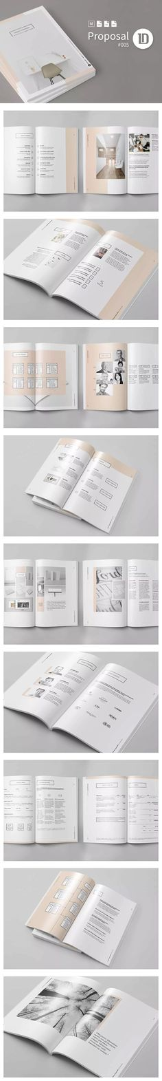 Black And White Proposal Project Template InDesign INDD - A4 And - marriage proposal template