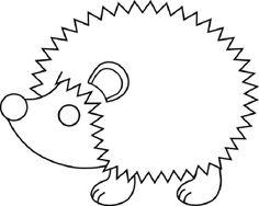 desenhos de ouriços para colorir - Pesquisa Google                                                                                                                                                                                 Mais
