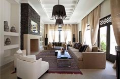 morocco homes interior | ... residence in Morocco,refined moroccan style,chic moroccan interiors