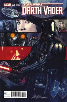 Preview: Darth Vader #25, Story: Kieron Gillen Art: Salvador Larroca Cover: Salvador Larroca Publisher: Marvel Publication Date: October 12th, 2016 Price: $5.99 ..., #All-Comic #All-ComicPreviews #Comics #DarthVader #KieronGillen #Marvel #previews #SalvadorLarroca
