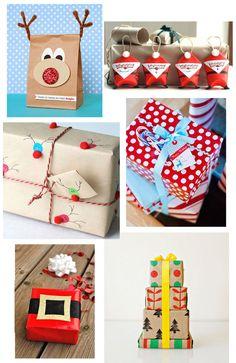 Selección de packaging para regalos de inspiración infantil. Mucho colorido y formas divertidas para llamar la atención de los niños. #gift #joy #Christmas #Betrendymyfriend #decopost