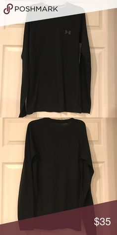 Men's Under Armour Thermal top Excellent Condition Men's Thermal Under Armour Top. Black Under Armour Shirts Tees - Long Sleeve