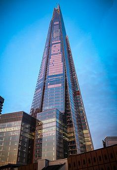 The Shard from London Bridge #architecture #buildings