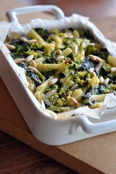 Italian food - Caserecce al forno