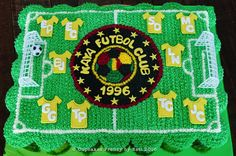 Kaya Futbol Club pull apart cupcakes cake #edibleart #unakaya