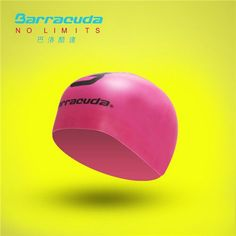 Barracuda Swimming accessories Goggles #33925 TRITON & 3D Silicone Cap (Standard) Package swimming set (RED goggles)