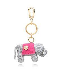 CROCHET ELEPHANT KEY FOB