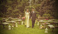 Outdoor wedding ceremony | Limepark Co Antrim