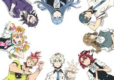 Image about anime in Kiznaiver ⚡ by ღ † Dєliriυм † ღ Kiznaiver Anime, Real Anime, Fire Emblem, Otaku, Magical Warfare, Vampire Knight Zero, Musaigen No Phantom World, Fate Stay Night Anime, Blue Wings