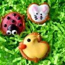 Stop Lookin. Get Cookin. » Ladybug, Duck and Bunny Pretzels