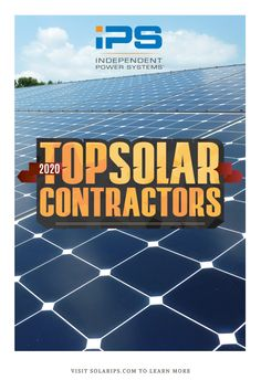 Congratulations To All Of This Year S Top Solarcontractors We Re Excited To Be Recognized Again For Our Solar Storage W In 2020 Solar Solar Power System Contractors