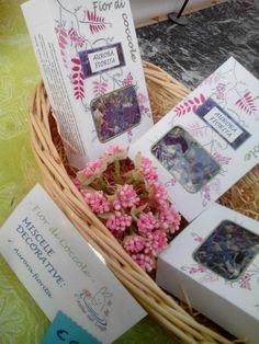 Miscele di fiori commestibili per decorazione e pasticceria