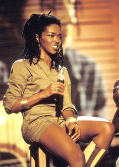 What an amazing being, she just radiates light! Ms. Lauryn Hill