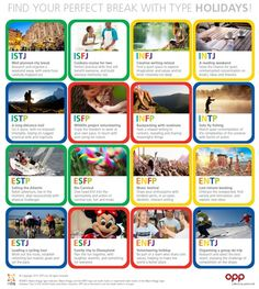 Perfect Vacation for your MBTI Type. A reading weekend sounds phenomenal, though I think I could get into a creative writing retreat also. Ultimately though, I kinda want to be on vacation by myself. Personality Chart, Personality Psychology, Christmas Abbott, Infj Mbti, Entj, Introvert, Myers Briggs Personalities, Myers Briggs Personality Types, 16 Personalities