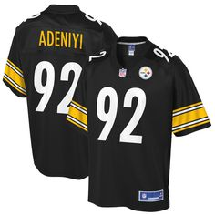 Olasunkanmi Adeniyi Pittsburgh Steelers NFL Pro Line Youth Player Jersey –  Black acaaa771a