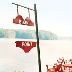 swimsuit sign | This sign is so darn cute.