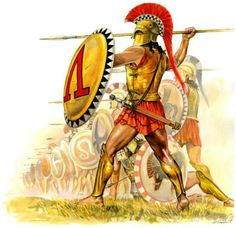 Hoplites were the finest warriors in the ancient world. Credits: Weapons and Warfare Ancient Sparta, Ancient Rome, Ancient Greece, Greek History, Ancient History, Sparta Greece, Greco Persian Wars, Roman Warriors, Greek Warrior