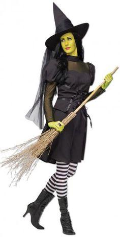 Wicked Hexen Kostüm mit Hut |  horror-shop.com