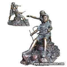 If you need child statue do not hesitate to contact Vincentaa at info@vincentaabronze.com    For more high quality bronze sculpture, welcome to visit Vincentaa website www.vicnentaabronze.com