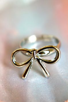 A Silver Lining Bow - $17.00