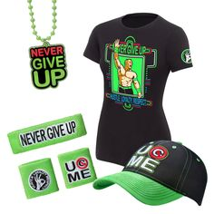 Get the full look with the ALL NEW John Cena