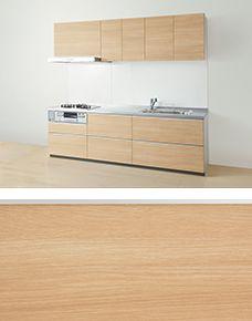 キッチン ミーレ食洗機 Totoキッチン グレー プラスドゥのインテリア