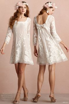 bhldn short wedding dresses 2013 daisy doll dress