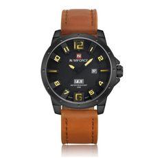 31098fb148c Pánské značkové hodinky NAVIFORCE žlutý ciferník- hodinky Na tento produkt  se vztahuje nejen zajímavá sleva