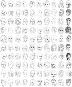 100 Faces by Charle-magne