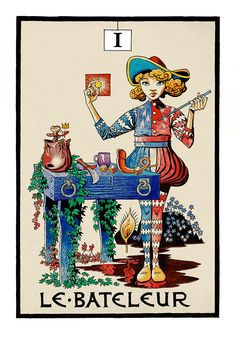 I. The Magician - Jamie Hewlitt Tarot by Jamie Hewlitt