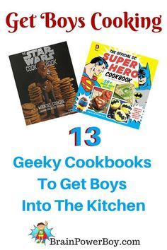 Cook up some fun! Geeky fun that is. Awesome Geek Cookbooks for Hobbit, Hunger Games, Star Wars, Harry Potter and more.