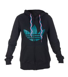 Adidas Magnetic Blue Zip Up Hoodie Will Have You Surfing!!