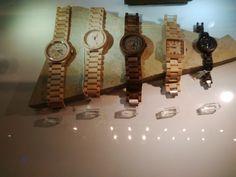 We Wood watches, at Victoria & Albert Museam shop.