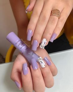 # some nails nails . Best Acrylic Nails, Acrylic Nail Designs, Trendy Nails, Cute Nails, Pink Holographic Nails, Classic Nails, Gelish Nails, Strong Nails, Luxury Nails