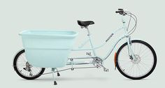 This MADSEN kg271 / 2013 / Blue bike looks amazing. I love the huge bucket with seats!