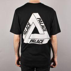 Palace Skateboards Palace Tri-Ferg Glow Skate T-Shirt - Black