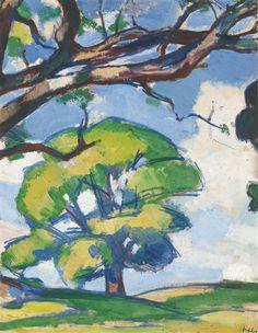 Samuel John Peploe, TREES, DOUGLAS HALL