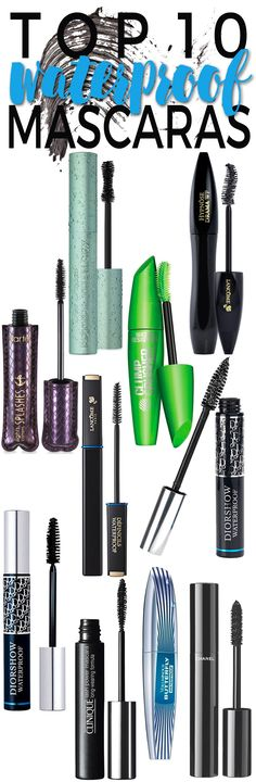 In the summer, I use waterproof mascara more than any other time of the  year. Waterproof mascara won't wash off, flake off or smudge off during all  the elements of the summer. Whether you are swimming, sweating, engaged in  your favorite sports activities or simply dealing with the heat and  humidity, waterproof mascara won't let your lashes down.
