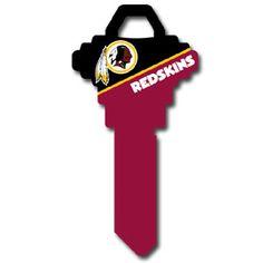 Schlage NFL House Key – Washington Redskins 1