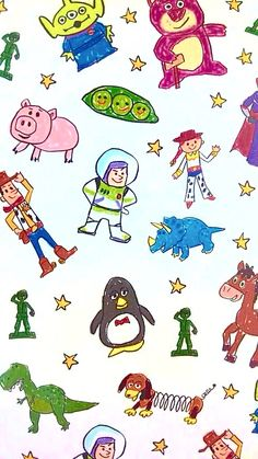 Toy story wallpaper … More