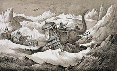 the carthaginian army pics. Hannibal | Caption Hannibal (247-c.183 BC) and his war elephants crossing the ...