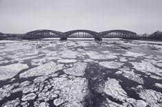 Winter 2014. *teilen erlaubt* — hier: Elbbrücken.