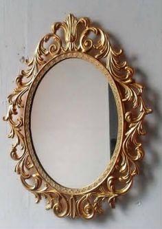 Golden Barouge mirror