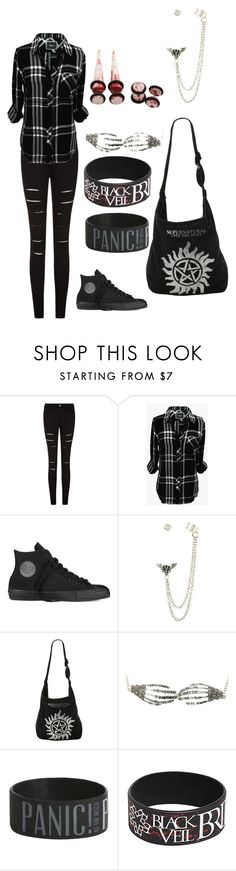 """Untitled #31"" by unicorn1233 ❤ liked on Polyvore featuring Rails and Converse"