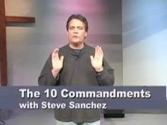 Learn 10 Commandments in 5 Minutes (Number hand signal is hilarious! Sunday School Kids, Sunday School Lessons, Sunday School Crafts, Bible Lessons For Kids, Bible For Kids, Lds Seminary, Raising Godly Children, 10 Commandments, Kids Church
